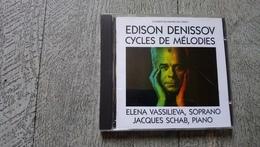 Edisson Denisov Cycles De Mélodies Vassilieva Soprano Schab Piano Musique Russe 1989 - Classique