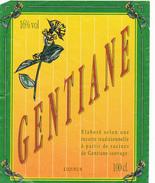 Étiquette / GENTIANE - Labels