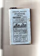 Annuairepratique Du Téléphone Pour Le Département De La Somme  1957 - Picardie - Nord-Pas-de-Calais
