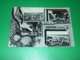 Cartolina Saluti Da Miramare Di Rimini - Vedute Diverse 1958 - Rimini