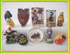 Pompiers 2008  .. Série Complète ... Ref AFF : 16-2008 .. (pan 0034) - Personnages
