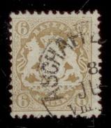 Bayern 1870-75, Staatswappen, 1 Einzelmarke: Mi. # 24 X Wz. 1 X . - Bavière