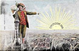 MILAN MILANO ITALIE LOMBARDIE ESPOZIZIONE 1906  N 101 PILADE ROCCO & C MILANO ECRITE CIRCULEE 1906 TIMBRE POSTE ITALIEN - Milano (Milan)