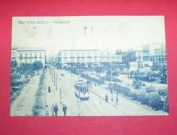 Cartolina Bari - Piazza Umberto I E Via Sparano 1926 - Bari