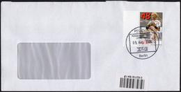 GERMANY BERLIN 2006 - MAILED ENVELOPE - PIN AG STANDARD MAIL - HANDBALL - Pallamano