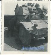 Campagne De France 1940 - Panhard AMD-178 - Automitrailleuse Et Blindé De Reconnaissance Français - Guerre, Militaire