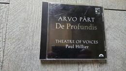 Arvo Part De Profundis Théatre Of Voices Paul Hillier 1996 Musique Actuelle - Klassik