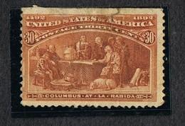 1893 COLUMBIAN EXPOSITION ISSUE 30 CENTS SCOTT#239 USED - 1847-99 Emissioni Generali