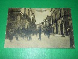 Cartolina Minervino Murge - Corso Umberto I 1925 - Bari