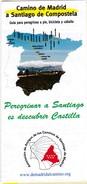 España : Camino De Madrid A Santiago De Composytela - Cartes