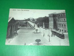 Cartolina Ariccia - Piazza E Ponte Monumentale 1903 - Roma (Rome)
