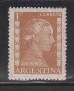 ARGENTINA Scott # 599 Mint Hinged - Eva Peron - Argentina