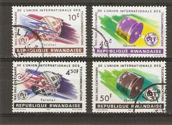 Rwanda -  1965 - UIT - Série Complète De 4 Timbres° - 108/111 - Rwanda