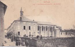 CPA Animée (81) VALENCE D' ALBIGEOIS Le Couvent - Valence D'Albigeois