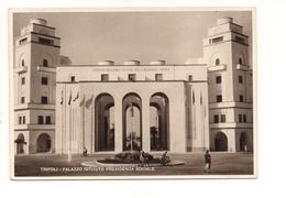 $3-5494 Colonie Libia Cartolina TRIPOLI Inps VIAGGIATA 1941 Francobollo Asportato - Italie