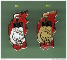 MARINS POMPIERS MARSEILLE *** 4em CIE *** Lot De 2 Pin's Differents *** GD *** A050 - Feuerwehr
