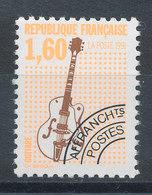Préo N°213a** Guitare Electrique (Dentelé 12) - Préoblitérés