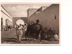 $3-5500 Colonie Libia Cartolina HOMS Tripolitania Mercato Non Viaggiata - Italia
