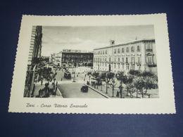 Cartolina Bari - Corso Vittorio Emanuele 1957 - Bari