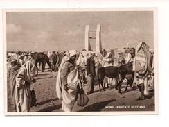 $3-5501 Colonie Libia Cartolina HOMS Tripolitania Mercato Non Viaggiata - Italia