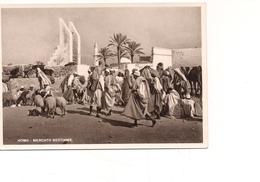$3-5502 Colonie Libia Cartolina HOMS Tripolitania Mercato Non Viaggiata - Italia