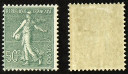 N° 198 50c Semeuse Lignée Neuf N* TB Cote 7,50€ - 1903-60 Sower - Ligned