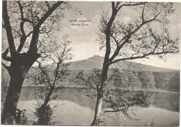 Y3687 Castel Gandolfo (Roma) - Lago Albano - Panorama Verso Monte Cavo / Viaggiata 1956 - Italië