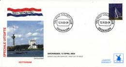 Nederland - Molenreeks/W-enveloppe - Mooi Nederland - Rotterdam - W168/2340 - Philato - FDC