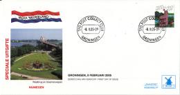 Nederland - Molenreeks/W-enveloppe - Mooi Nederland - Nijmegen - W167/2323 - Philato - FDC