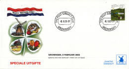 Nederland - Molenreeks/W-enveloppe - Mooi Nederland - Nederland - W166/2324 - Philato - FDC