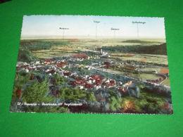 Cartolina Travesio  Pordenone - Panorama Col Tagliamento 1957 - Treviso