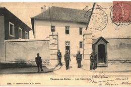 CPA N°194 - THONON LES BAINS - LES CASERNES - MILITARIA - Thonon-les-Bains
