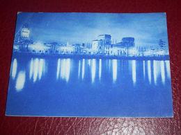 Cartolina Bari - Fiera Del Levante - Fronte Della Fiera Sul Mare 1937 - Bari