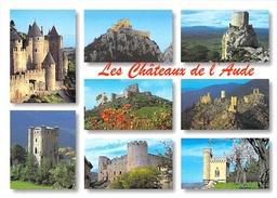 11 - Chateaux De L'AUDE: Carcassonne, Arques, Villerouge, Puilaurens, Quéribus, Lastours, Aguilar, Rennes Le Chateau - France