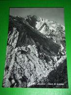 Cartolina Alpi Apuane - Cave Di Marmo 1950 Ca - Massa
