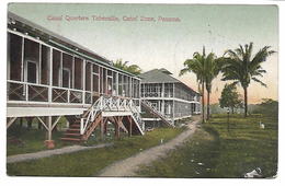 PANAMA - Canal Quarters Tabernilla - Canal Zone - Panama