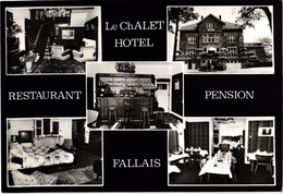 FALLAIS ... LE CHALET .. HOTEL .. RESTAURANT .. PENSION - Braives