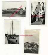 En 1923-4 Petites Photos Amateurs SAINT MALO.- Format 6,6 X 4cm - Lieux