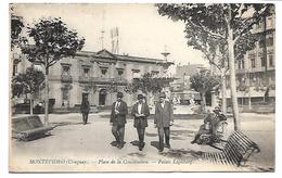 URUGUAY - MONTEVIDEO - Place De La Constitution - Palais Législatif - Uruguay