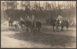 Ruthenian Farm Boys On Horseback, Ukraine, C.1920s - RP Postcard - Ukraine