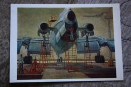"Aviation In Art. Bubnov ""Far Away Distances"" - -plane / Avion - 1980 - 1946-....: Moderne"