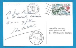 (A613) - Signature / Dédicace / Autographe Original - André Castelot - écrivain, Journaliste, Biographe, Scénariste - Autographes