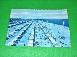 Cartolina Riccione - Spiaggia 1940 Ca - Rimini