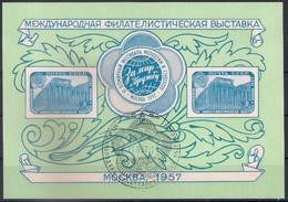 Russia 1957, Michel S/sheet Nr 21, Used - Gebraucht