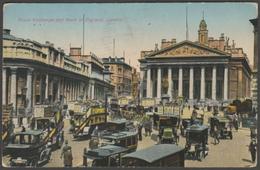 Royal Exchange And Bank Of England, London, 1934 - Postcard - Other
