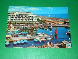 Cartolina Riccione - Darsena 1968 - Rimini