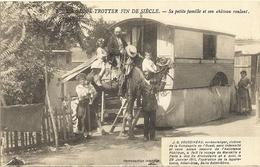 Un Globe Trotter Fin De Siècle, Sa Petite Famille Et Son Château Roulant   59 - France