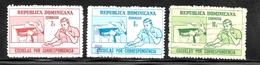 Dominican Republic 1972 SC# 703-705 - Dominican Republic