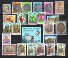 Année 1986  Complète  Luxembourg   Yv. 1093 / 1117**, Cote 52 €, - Années Complètes
