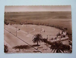 Cartolina Taranto - Rotonda E Corazzata Duilio 1951 - Taranto